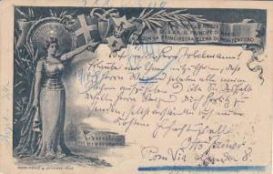 Art Nouveau Postcard , Montenegro , PU-1896