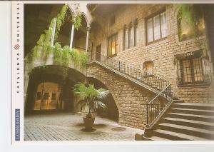 Postal 032198 : Barcelona. Museo Picasso. Palau Berenguer dAguilar