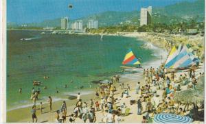 Playa la Condesa, Mexico, Condesa Beach, Postcard