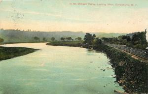 Canajoharie NY Mohawk Valley~New York Central ~Water Level Rte~Train Engine~1908