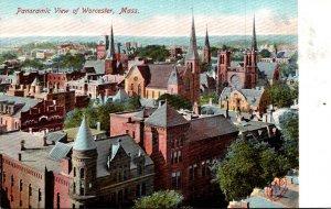 Massachusetts Worcester Panoramic View