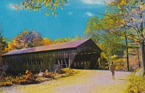 Albany Covered Bridge White Mountains New Hamshire