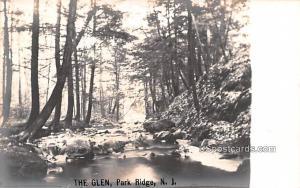 The Glen Park Ridge NJ Writing on back