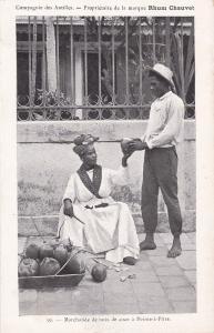 Marchande De Noix De Coco A POINTE-A-PITRE, Guadeloupe, France, 1910-1920s