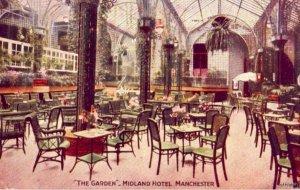 THE GARDEN MIDLAND HOTEL MANCHESTER ENGLAND UK  1913