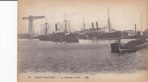 SAINT NAZAIRE, Loire Atlantique, France, 1900-1910's; Le Nouveau Bassin