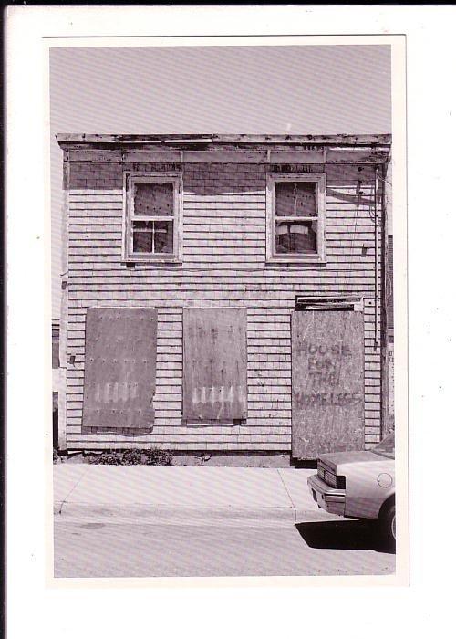 House for the Homeless, Halifax, Nova Scotia, Peter Jackson 1990
