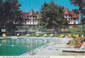 Swimming Pool, The Algonquin Hotel,  St. Andrews-by-the-Sea,  New Brunswick, ...