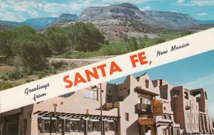 Scenic Greetings from SANTA FE , New Mexico , PU-1970