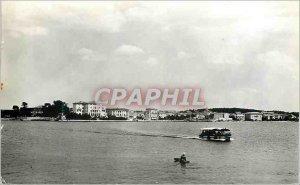 Postcard Modern Porec Boat