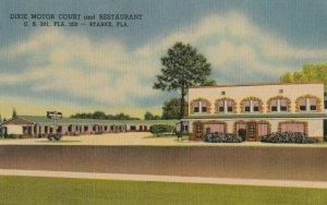 STARKE , Florida, 1930-40s ; Dixie Motor Court