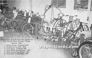 Motorcycles and Bicycles on display, The Harold Warp Pioneer Village Minden, ...
