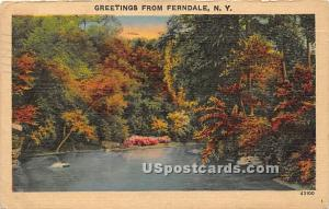 Greetings from Ferndale NY 1944