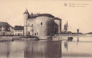 Windmills, Porte Sainte-Croix, Bruges (West Flanders), Belgium, 1900-1910s
