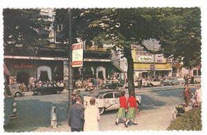 Rembrandtsplein, Amsterdam, North Holland, Netherlands, 40-60s