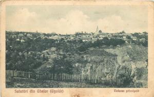 Romania Salutari din Ghelar ( Gyalar ) Ghelari Hunedoara Transylvania vtg pc