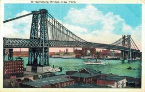 USA Williamsburg Bridge New York 02.05