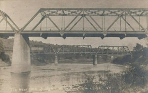 RP: WHITE RIVER JUNCTION , Vermont, 1915 ; New Iron Bridge