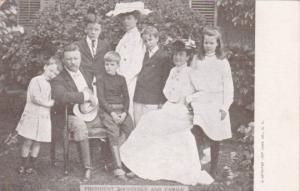President Roosevelt and Family