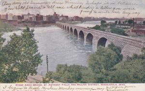 Stone Arch Bridge, St. Anthony Falls and Milling District, Minneapolis, Minne...