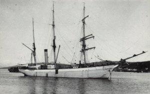 Postcard, Norwegian Sailing Vessel  Samson  in the area when Titanic Sank DP8