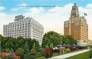 MN, Rochester, Minnesota, Clinic, Hotel Kahler, Edward H. Mitchelc No. 18803