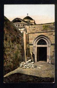 037582 JERUSALEM Coptic Monastery Vintage PC