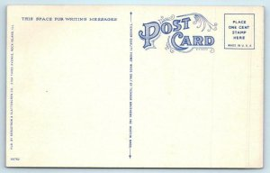 ROCK ISLAND, Illinois IL ~ ROYAL NEIGHBORS BUILDING Art Deco  c1940s Postcard