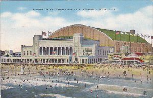 Auditorium and Convention Hall Atlantic City New Jersey