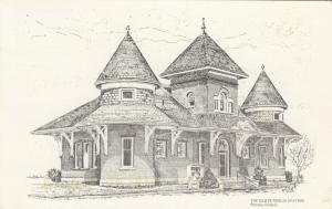 PETROLIA , Ontario , Canada , PU-1989 ; Sketch of Old Petrolia Railroad Station