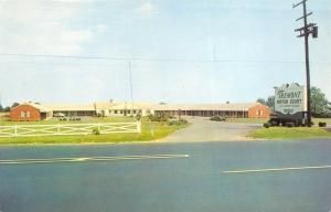 New Castle Delaware 1950s Postcard Tremont Motor Court Motel