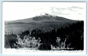 RPPC SHASTA COUNTY, CA California BURNEY MOUNTAIN   c1950s Eastman  Postcard