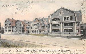 G33/ Cincinnati Ohio Postcard 1907 Kraemer Art Haddon Hall Reading Rd