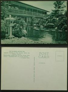 Talisman Inn Japanese Garden Ottawa circa 1960s