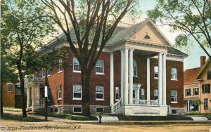 Concord NH Wonalancet Social Club~Split Steps w/Balustrade Railing~Columns c1908