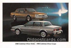1982 Celebrity 4 Door Sedan, Chevy Chevrolet Auto, Car Unused
