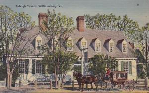 Baleigh Tavern Williamsburg Virginia
