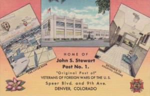 Colorado Denver John S Stewart Post No 1 Veterans Of Foreign Wars Curteich