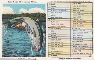 APSLEY , Ontario , Canada , 1930s ; Fishing Exaggeration #7