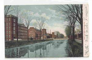 Canal and Mills, Lewiston, Maine PU-00-10