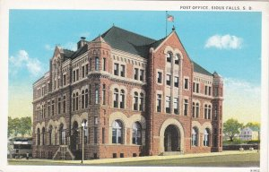 SIOUX FALLS , South Dakota, 1910s ; Post Office