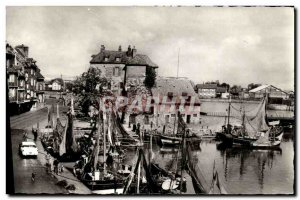 Modern Postcard Honfleur Fishing Boat and Yacht Lieutenancy