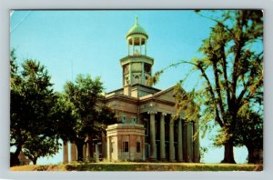 Vicksburg MS-Mississippi, Old Warren County Courthouse, Museum, Chrome Postcard