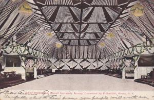 Junior Promenade, Cornell University Armory, Decorated by Rothschild, Ithaca,...
