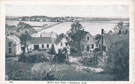 Bird's Eye View of Bathurst, New Brunswick, Canada, 10-20s
