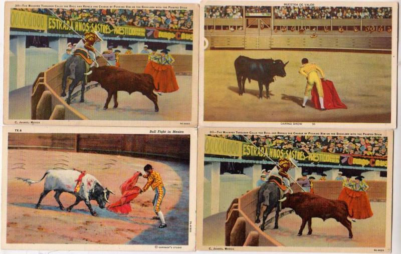 4 - Bull Fighting, Juarez Mex