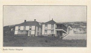 LABRADOR , Canada , 1900-10s ; Battle Harbor Hospital