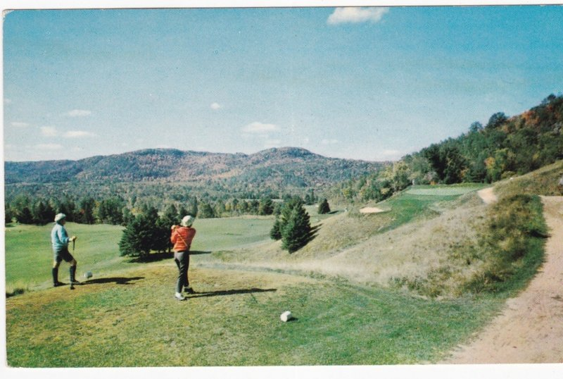 ST JOVITE , Quebec , Canada, 1950-60s ; Gray Rocks Inn Golf Course 14th Hole