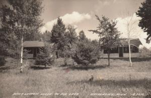RP: HACKENSACK , Minnesota, 1930s ; Inter Lachen Lodge , Kid Lake