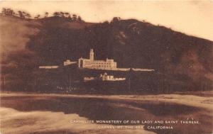 Carmel-By-The-Sea California~Carmelite Monastery of Our Lady & St Therese~1940s